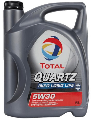 Total QUARTZ INEO LONG LIFE 5W30 5 L