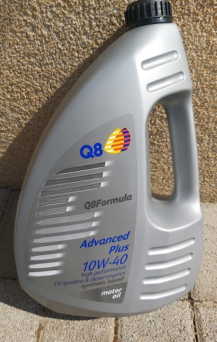 Q8 Formula Advanced Plus 10W-40 motorolaj 4 literes