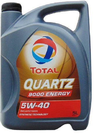 Total Quartz 9000 Energy 5W40 5 L