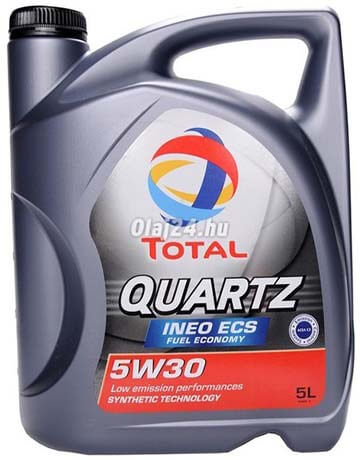 Total 5W30 Quartz Ineo ECS 4 L
