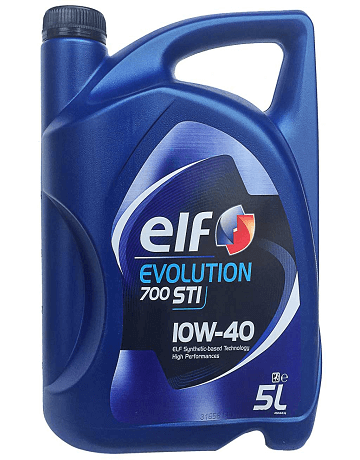 Elf Evolution 700 STI 10W-40 motorolaj 5 L